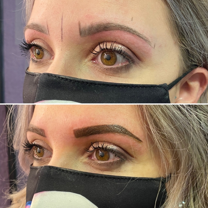 Ratrapage maquillage permanent sourcil